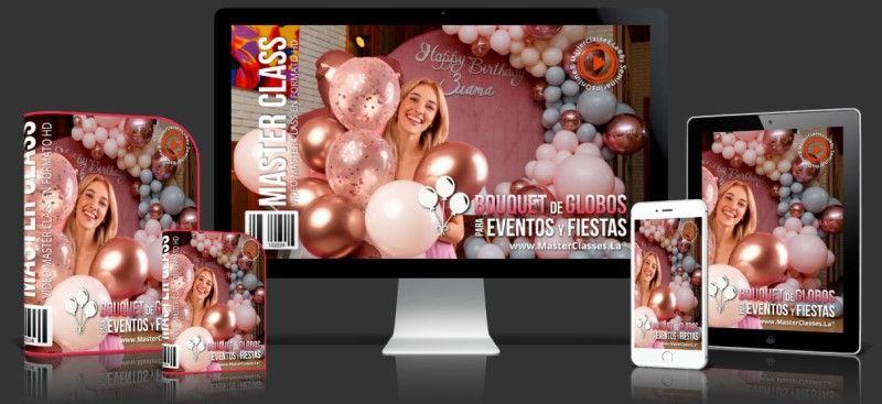 Aprende sobre Bouquet de Globos para Eventos y Fiestas