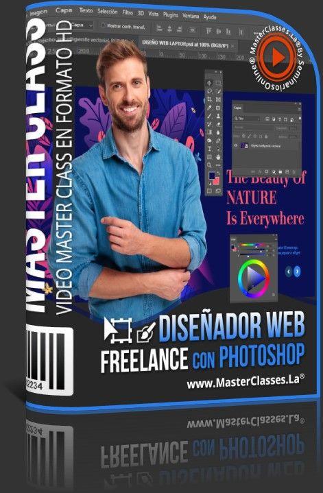 Diseñador Web Freelance con Photoshop