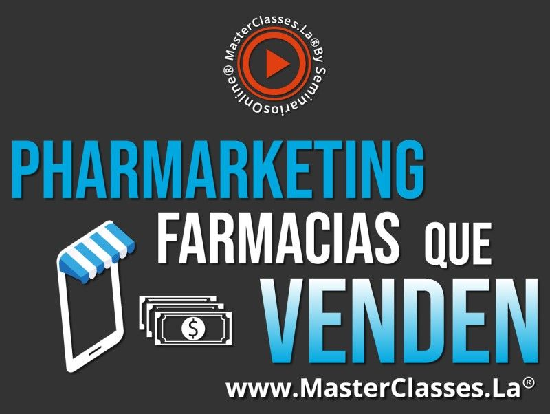 MasterClass Pharmarketing Farmacias que Venden