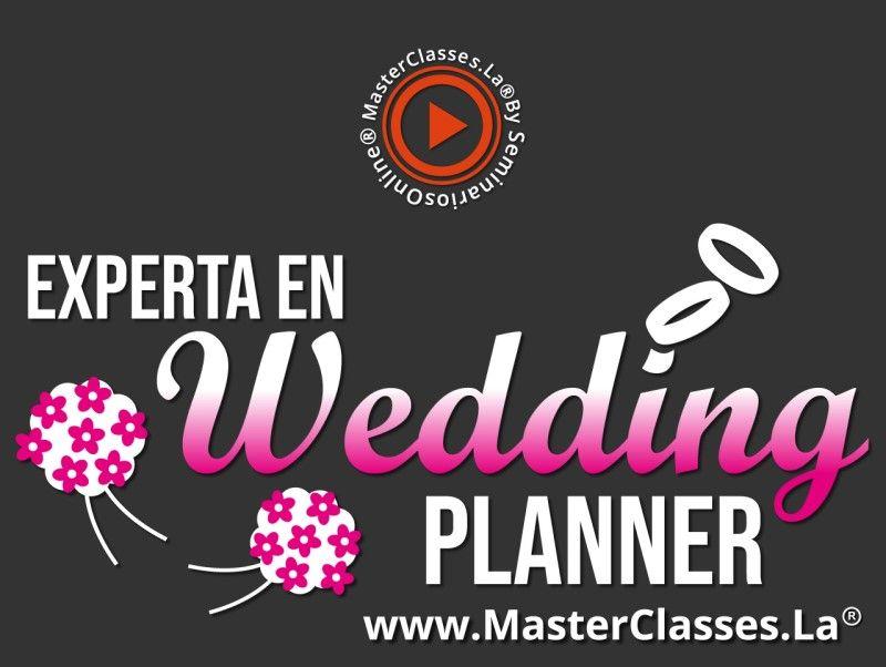 MasterClass Experta en Wedding Planner