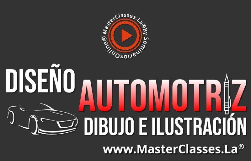 MasterClass Diseño Automotriz - Dibujo e ilustración