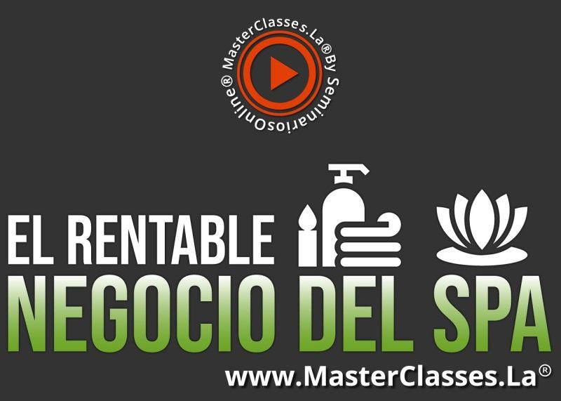 MasterClass El Rentable Negocio del SPA
