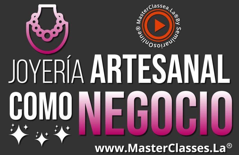 MasterClass Joyería Artesanal como Negocio