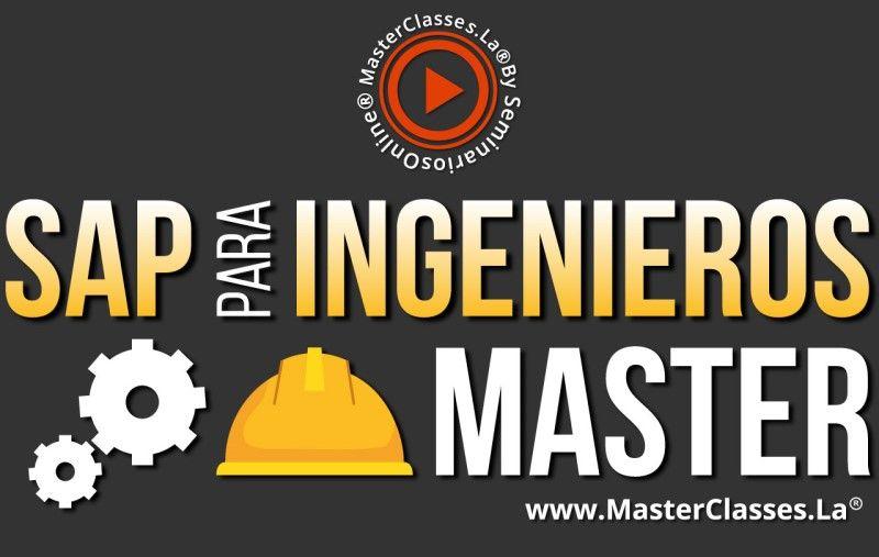 MasterClass SAP para Ingenieros Master