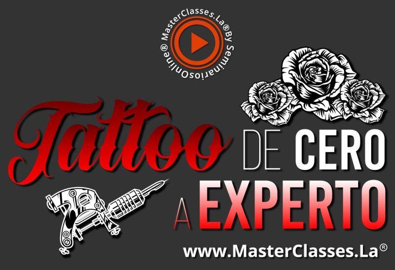 MasterClass Tattoo de Cero a Experto