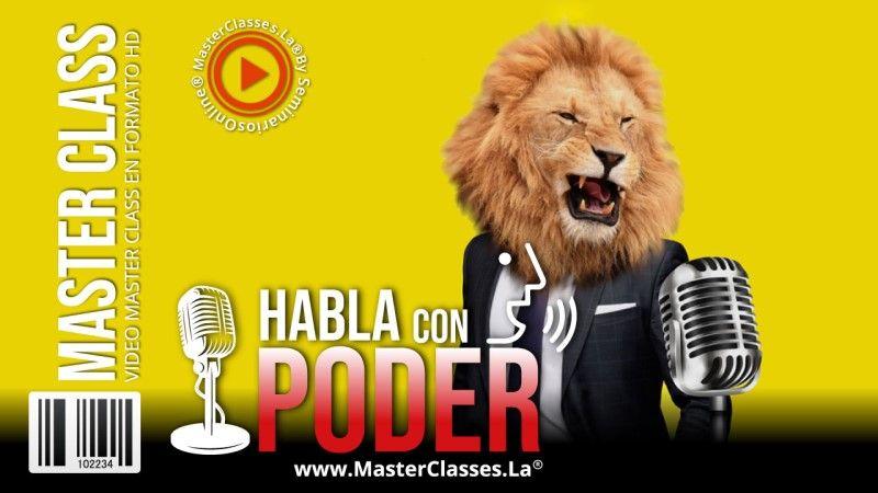 MasterClass Habla con Poder