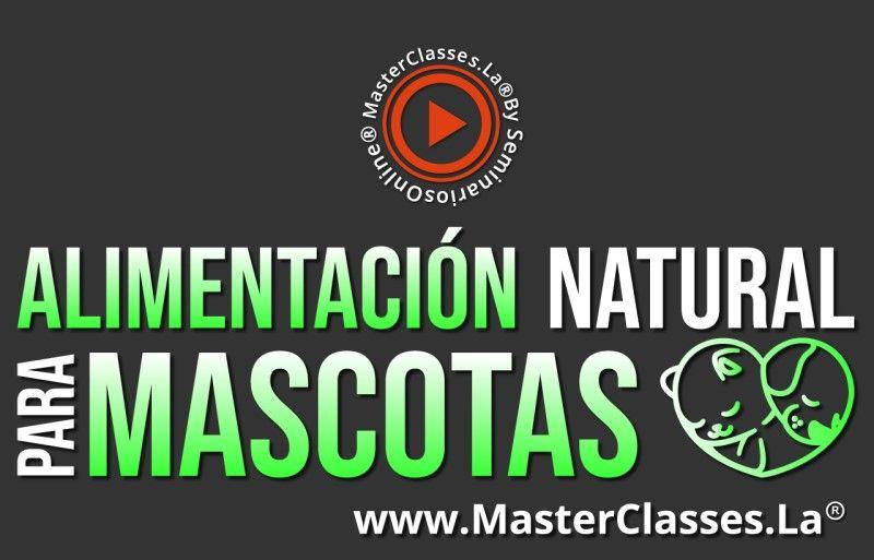 MasterClass Alimentación Natural para Mascotas