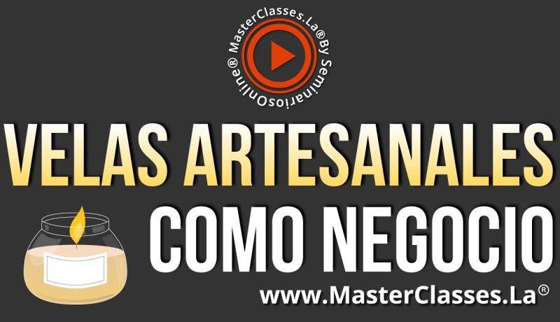 MasterClass Velas Artesanales como Negocio