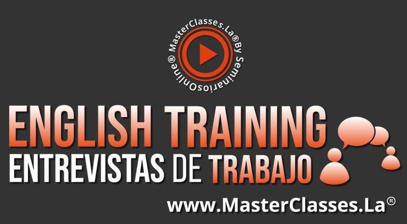 MasterClass English Training - Entrevistas de Trabajo