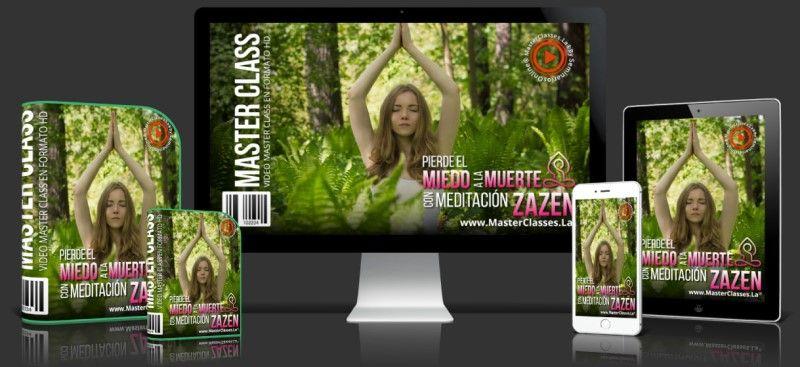 Curso Online Pierde el Miedo a la Muerte con Meditación Zazen