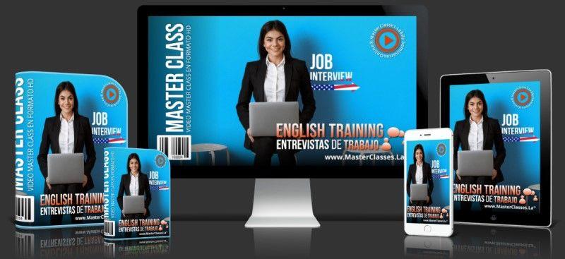 Curso Online English Training - Entrevistas de Trabajo