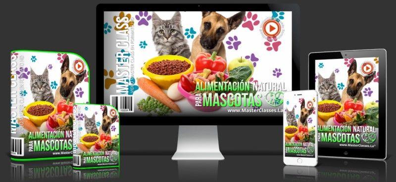 Aprende sobre Alimentación Natural para Mascotas