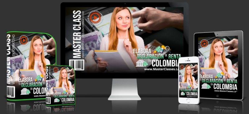 Curso Online Elabora tu Declaración de Renta en Colombia